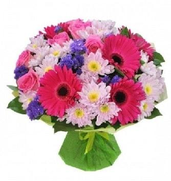 Karışık mevsim buketi mevsimsel buket  Kars hediye sevgilime hediye çiçek