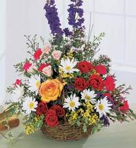 Kars çiçek siparişi vermek  Mevsim çiçekleri sepeti